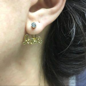 Jewelry - LOVE Ear Jackets